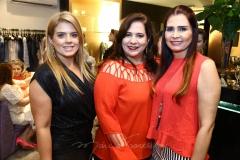 Letícia Studart, Martinha Assunção e Lorena Poucher