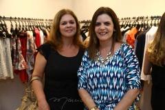 Márcia Cabral e Daniela Bezerra