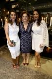Márcia Travessoni, Lenita Negrão e Maria Lúcia Negrão