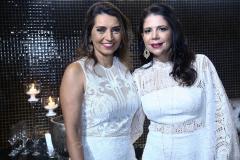 Márcia Travessoni  e Maria Lúcia Negrão