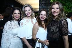 Maria Lúcia Negrão, Alexia Fontes, Claudiane Juaçaba e Geórgia Saboya