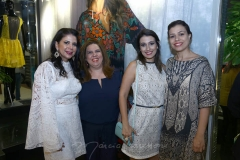 Maria Lúcia Negrão, Geiza Praça, Sâmia Fiúza e Fernanda Fiúza