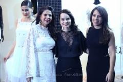Maria Lúcia Negrão, Sheila Brasil e Aline Beniguino