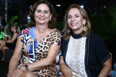 Marilena Campos e Cláudia Cavalcante