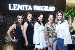 Selmar Viana, Guiomar Feitosa, Maria Lúcia Negrão, Geana Studart e Rose Carvalho