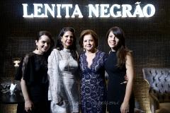 Sheila Brasil, Maria Lúcia Negrão, Lenita Negrão e Aline Beniguino