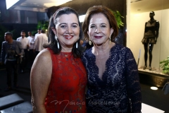 Sílva Campos  e Lenita Negrão