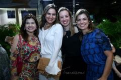 Ticiana Brígido, Luciana Borges, Mariana Vale e Inês Castro