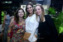 Ticiana Brígido, Luciana Borges e Mariana Vale
