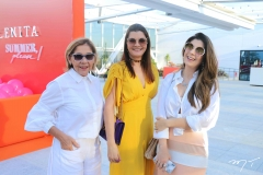 Inês Peixoto, Liliana Farias e Renata Aguiar