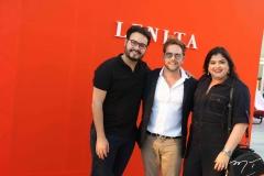 Vinicius Machado, Thiago Camargo e Vivi Almada