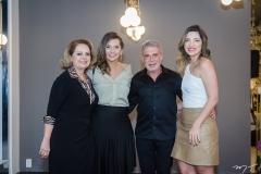 Adélia Magalhães, Márcia Travessoni, Léo Shehtman e Natália Magalhães