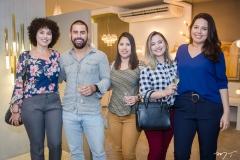 Geovana Mendes, Neto Esmeraldo, Larissa Luma, Paloma Diógenes e Ana Beatriz