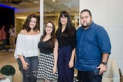 Júlia Jereissati, Camila Santana, Karina Sousa e Jorge Codevilla