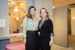 Márcia Travessoni e Adélia Magalhães