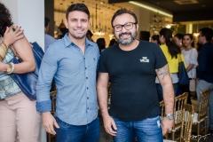 Saimon Rocha e Eduardo Fonteles