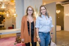 Sophia Linhares e Gina Paiva