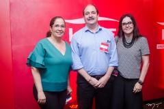 Ana Xavier, Paulo André Holanda e Veridiana Soares