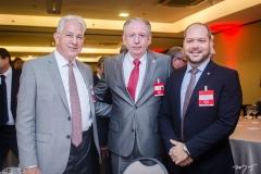Carlos Prado, Ricardo Cavalcante e Heitor Freire