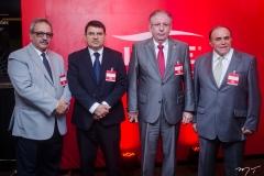 Emilio Morais, Sérgio Lopes, Ricardo Cavalcante e Cristiano Maia