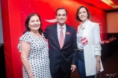 Maria de Fátima Facundo, Beto Studart e Miriam Pereira