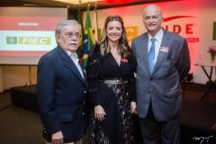 Raimundo Padilha, Emilia Buarque e Lauro Fiuza