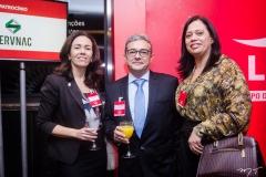 Raquel Brandão, Francisco Almeida e Milena Pereira