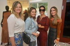 Cenira Maia, Michele Sampaio, Alice Ferraz e Monique Sales