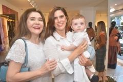 Dalva Arraes, Natasha Parente e Joseph Tomaz