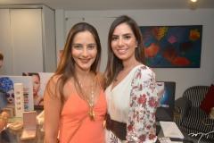 Lara Romcy e Nicole Pinheiro