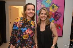 Manoela Bezerril e Carla Nogueira