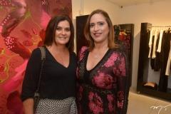 Márcia Aguiar e Ana Cláudia Canamary