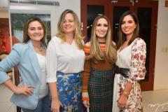 Michele Sampaio, Cenira Maia, Monique Sales e Nicole Pinheiro