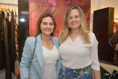 Michele Sampaio e Cenira Maia