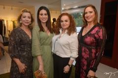 Tania Melo, Natasha Pinheiro, Lisieux Brasileiro e Ana Cláudia Canamary