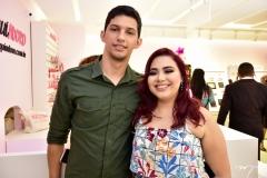 Genario Alves e Tiara Leite