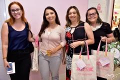Ingrid Coelho, Larissa Sousa, Patricia Moreira e Mara Araripe