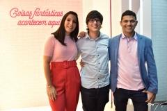 Rochelania Sousa, Rychell Sousa e Daniel Diogenes