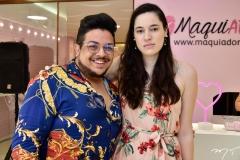 Rafael Lessa e Yohana Andrade
