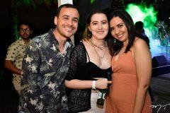 Fabio Saraiva, Ivina Santos e Samila Duavir