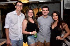 Matheus Sampaio, Carla e Lucas Uchoa e Jessica Menezes