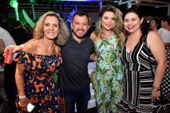 Rosangela, Lucilio Bessa, Livia Baral e Gabriela Nogueira