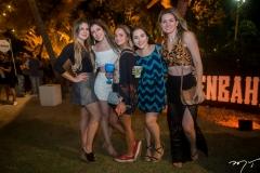 Amanda Pontes, Juciana Helcias, Maya Verdinelli, Carolina Trindade e Ana Paula Schnorr