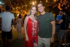 Ana Clara Boris e Felipe Holanda