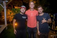 Artur Colares, Rodrigo e Caio Oliveira