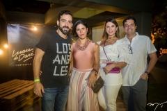 Caio, Marja Pugliesi, Kelvia e Rodrigo Almeida