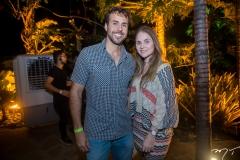 Daniel Nogueira e Bianca Menescal