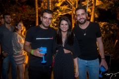 Guilherme Lima, Bia Nogueira e Victor Oliveira