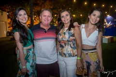 Laiana Mara, Milton Bonifácio, Sandra Lúcia e Priscila Tavares