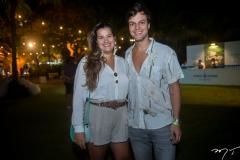 Larissa Barreto e Valter Costa Lima